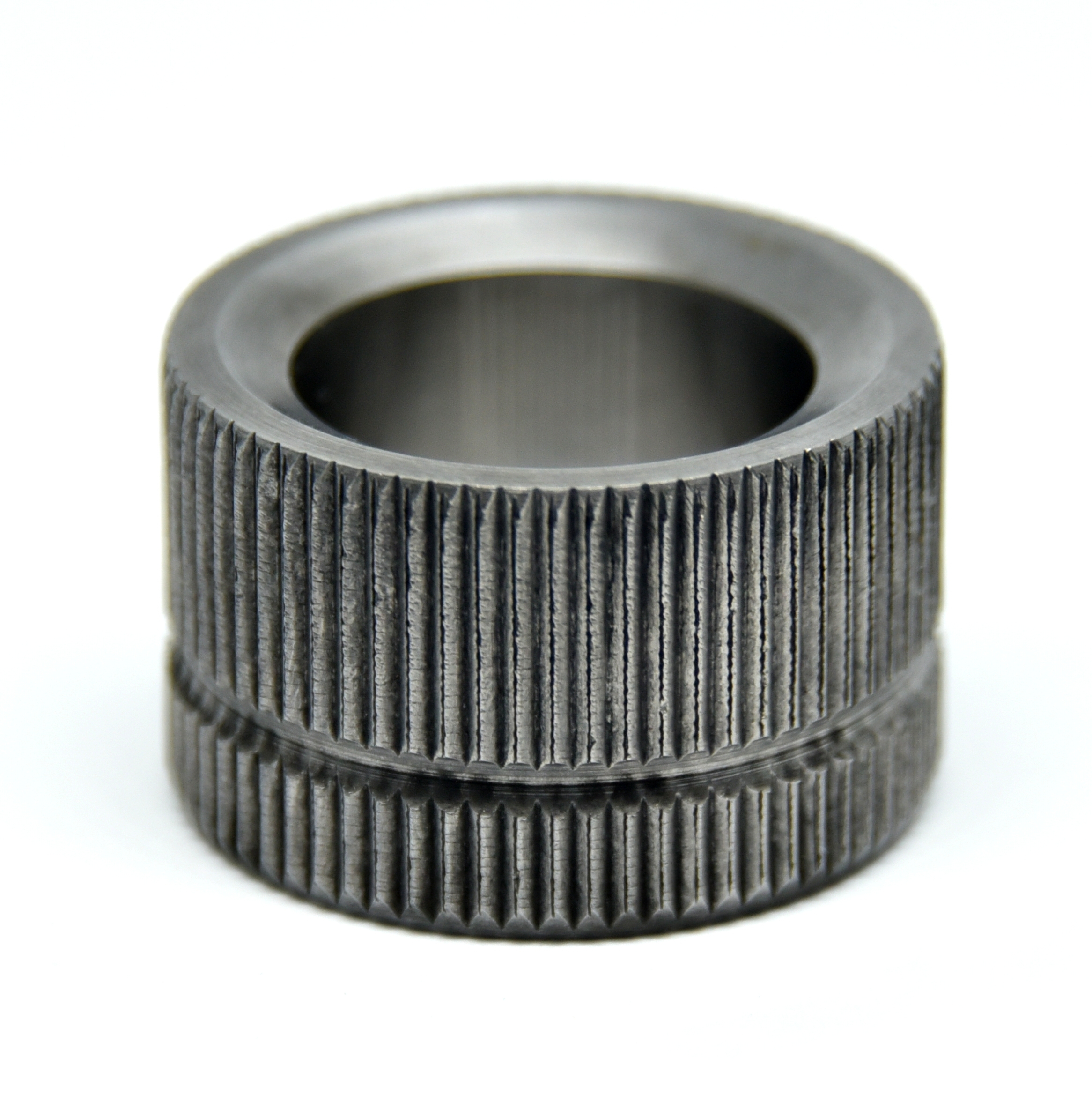Polygrip recessed serrated bushes