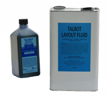 Blue layout fluid